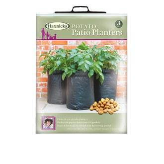 Potato Patio Planters x 3