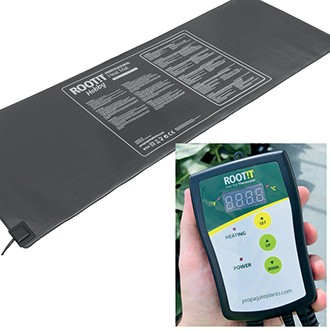 ROOT!T Thermostat and Large Heat Mat Set