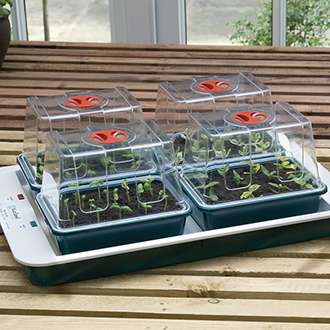 Four Top Electric Propagator