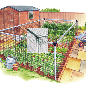 Vegetable Cage - Standard 12'x12'