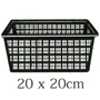 Pond Plant Square Baskets (2.5ltr) x 3
