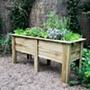 Wooden Garden Deep Root Planter 1.8m