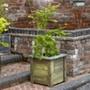 Cambridge Wooden Garden Planter 50 x 50cm