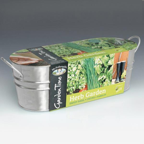 Garden Time Range Windowsill Herb Garden Kit from Mr