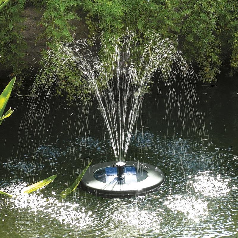solarshower float 200 solar floating fountain pond pump from mr fothergills. Black Bedroom Furniture Sets. Home Design Ideas