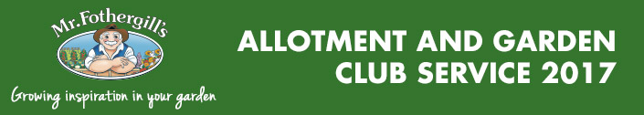 Mr Fothergill's Allotment & Gardening Club Service 2017