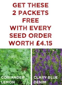 FREE Seed worth £4.15