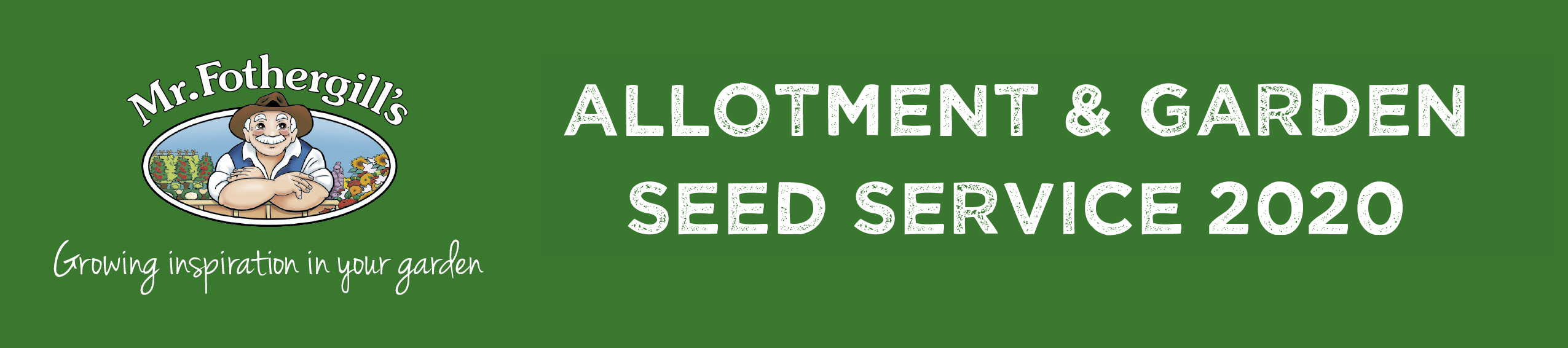 Mr Fothergill's Allotment & Gardening Club Service 2020