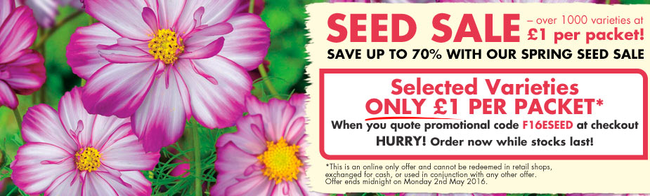 Amazing Garden Seed Sale