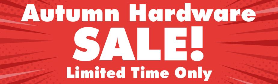 Autumn Hardware Sale
