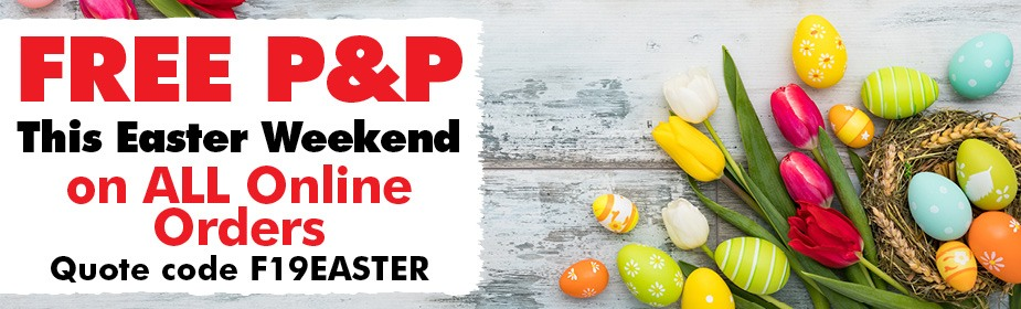FREE P&P This Easter Weekend