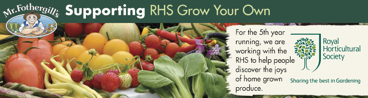 RHS Grow Your Own supported by Mr Fothergill's Seeds Ltd
