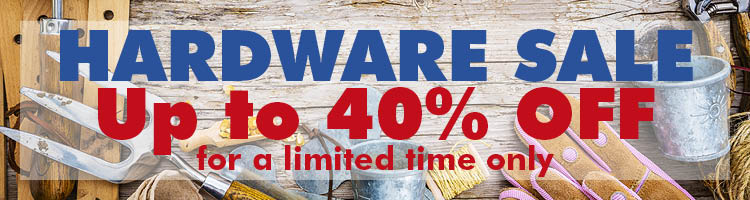 Hardware Sale